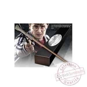 Harry potter réplique baguette de harry potter (édition personnage) Noble Collection -NOB8415