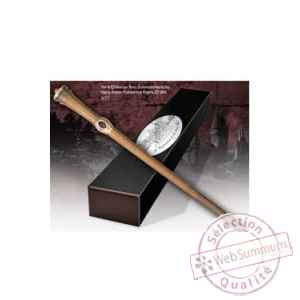 Harry potter replique baguette de mundungus fletcher (edition personnage) Noble Collection -NOB8240