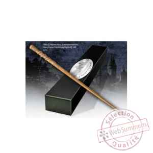 Harry potter replique baguette de percy weasley (edition personnage) Noble Collection -NOB8218