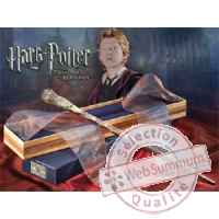 Harry potter replique baguette de ron weasley Noble Collection -nob7462