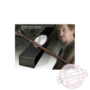 Harry potter réplique baguette du professeur remus lupin (édition personnage) Noble Collection -NOB8298