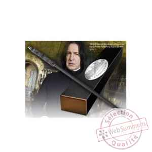 Harry potter replique baguette du professeur severus snape (edition personnage) Noble Collection -NOB8405