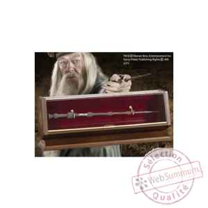 Harry potter replique bronze baguette de albus dumbledore Noble Collection -NOB8503