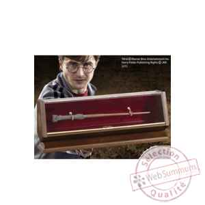 Harry potter réplique bronze baguette de harry potter Noble Collection -NOB8501
