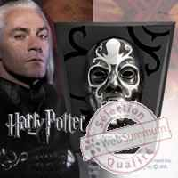 Harry potter replique masque mangemort lucius malfoy Noble Collection -nob07118
