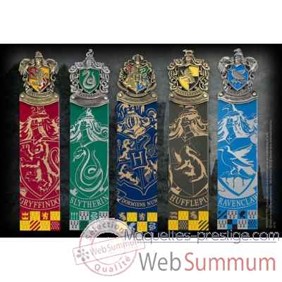 Harry potter - set de 5 marque-pages Noble Collection -NN8725