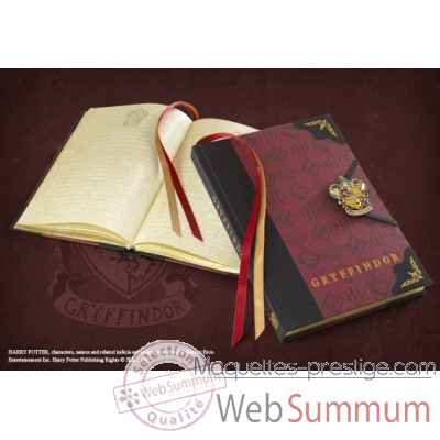 Journal - gryffondor - harry potter Noble Collection -NN7337