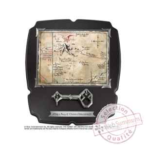 Le hobbit replique 1/1 cle et carte de thorin ecu-de-chene deluxe Noble Collection -NOB1212