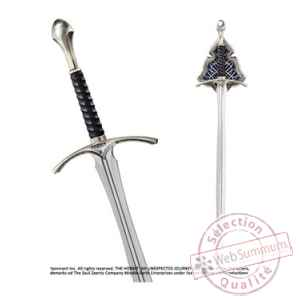 Le hobbit replique 1/1 epee glamdring 120 cm Noble Collection -NOB1245