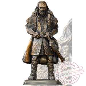 Le hobbit statuette bronze thorin ecu-de-chene 17 cm Noble Collection -NOB1205
