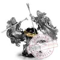 Le seigneur des anneaux diorama the battle of the wizards 23 cm Noble Collection -nob9129