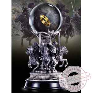 Le seigneur des anneaux statuette quest for the ring 18 cm Noble Collection -nob9900