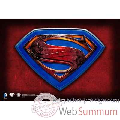 Man of steel - plaque murale Noble Collection -NN4518