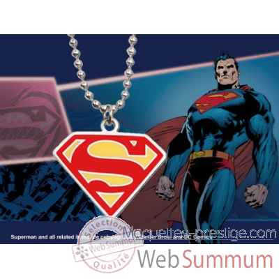 Pendentif embleme superman (rouge) Noble Collection -NNXT8322