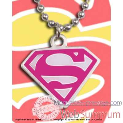 Pendentif supergirl Noble Collection -NNXT8336