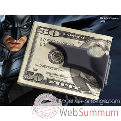 Pince a billet batarang™ - noir Noble Collection -NN4292
