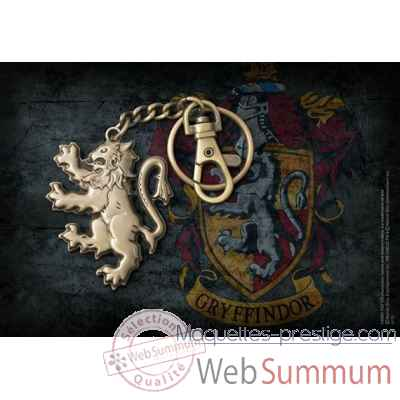 Porte-cles lion de gryffondor - harry potter Noble Collection -NN7716