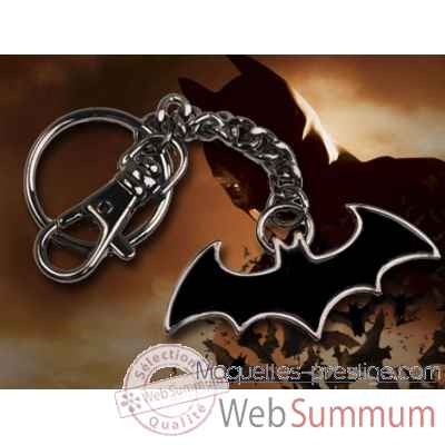 Porte-cles logo batman noir Noble Collection -NNXT8363