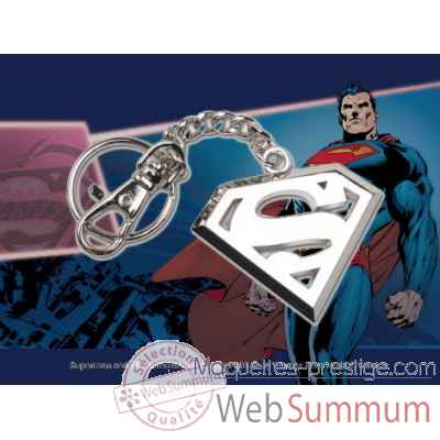 Porte-cles logo superman en acier Noble Collection -NNXT8361