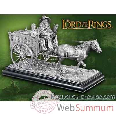 Sculpture - gandalf a la comte Noble Collection -NN9627