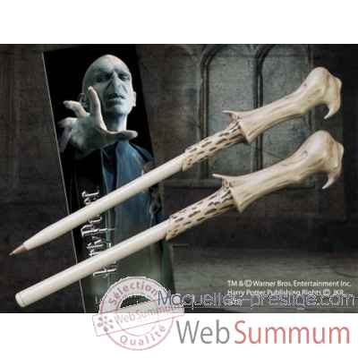 Stylo baguette & marque-page voldemort Noble Collection -NN8638