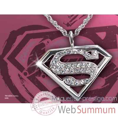 Supergirl™ - pendentif cristal Noble Collection -NN4026