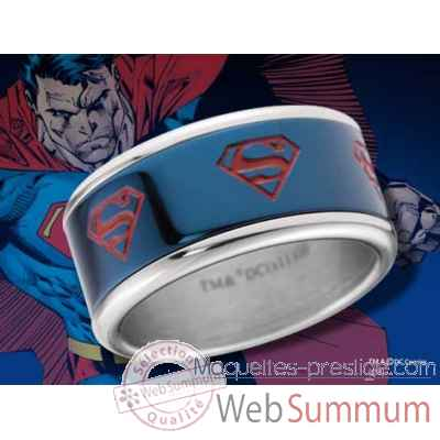 Superman - anneau coulissant bleu Noble Collection -NNXT8300
