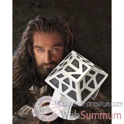 Thorin oakenshield™ - anneau nain argent 925eme Noble Collection -NN1321