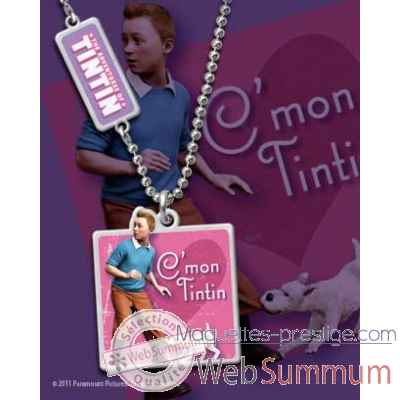 Tintin - pendentif charme Noble Collection -NN2068