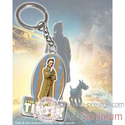 Tintin - porte-cles logo Noble Collection -NN2092