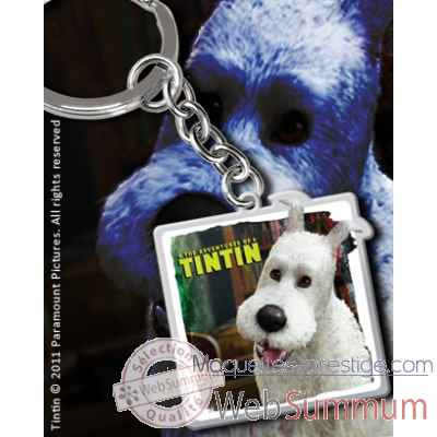 Tintin - porte-cles metal milou Noble Collection -NN8082