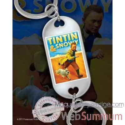 Tintin - porte-cles tintin et milou Noble Collection -NN2078