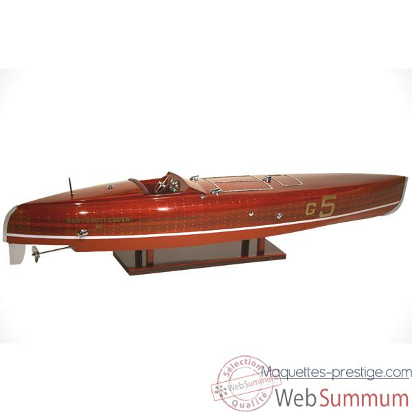 Video Maquette Runabout American - Babybootlegger - Collection Riva - R-BABY50