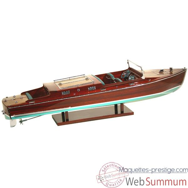 Maquette Runabout Americain-Craft-Collection Riva - R-CRAFT50