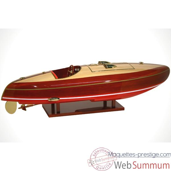 Maquette Runabout Americain-Flyer- Collection RIVA - R-FLY82