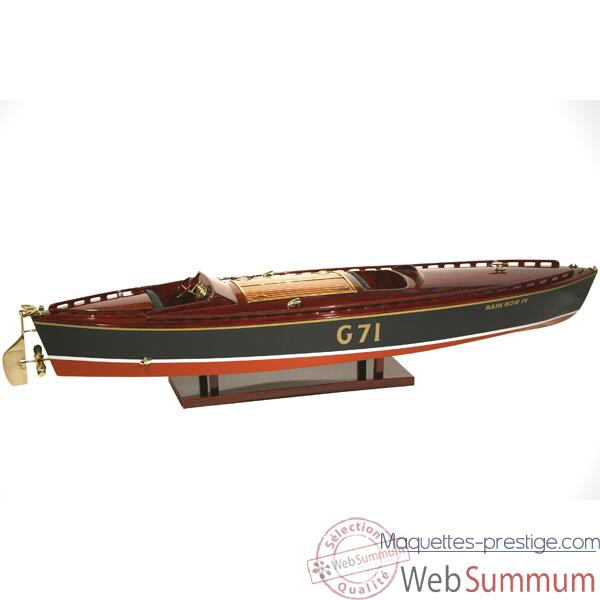 Maquette Runabout Americain-Rainbow IV-Collection Riva - R-RAIN50