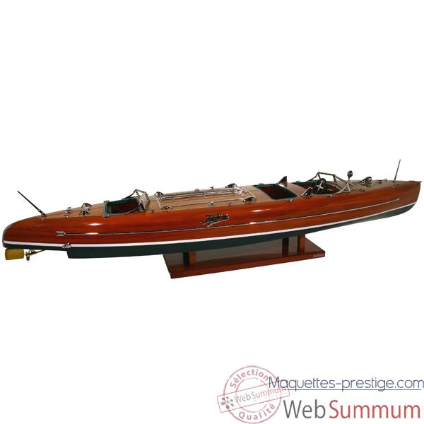 Maquette Runabout Américain-Typhoon- Collection Riva - RTYPH50