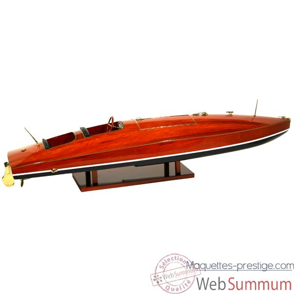 Maquette Runabout Américain-Zipper- Collection Riva - R-ZIPP50